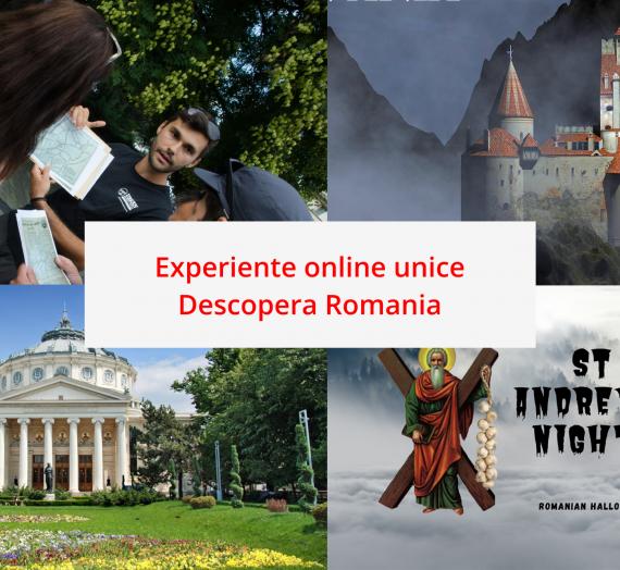 Experiente online unice. Calatoreste virtual alaturi de noi